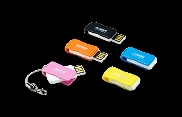 回転式USBフラッシュメモリ AD-UCTシリーズ 32GBを4月上旬より発売