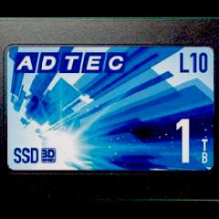 2.5inch 換装型SSD AD-L10Dシリーズに1TBモデルが加わります(8月末発売予定)