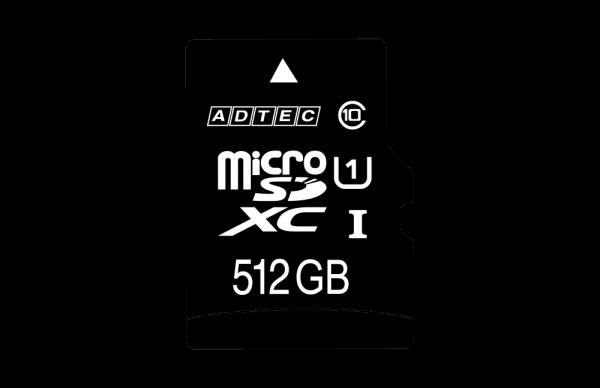 microSDカード AD-MRXAMシリーズに512GBモデルが加わります(3月下旬発売予定)